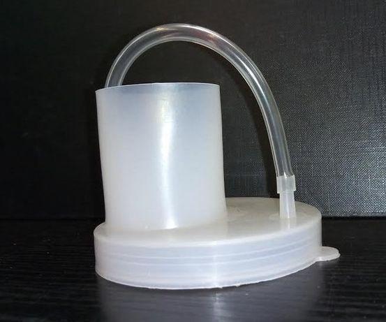 Крышка для изготовления вина (гидрозатвор).