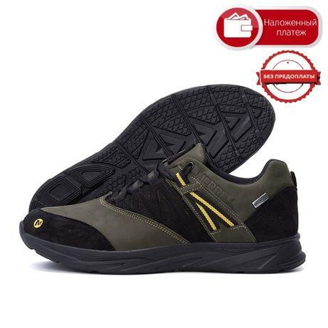 Лучший выбор Новые Мужские кожаные кроссовки МЕRRЕLL vІbrаm ОІіvе