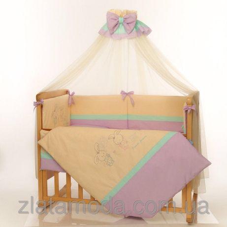 Комплект постельного в кроватку