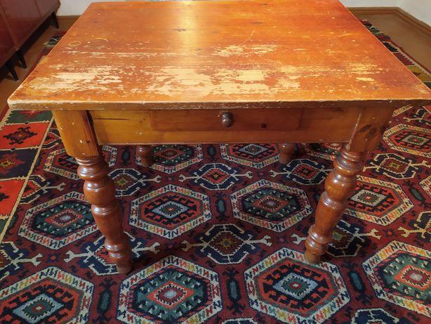 Стол антикварный, старинный, винтажный ручной работы начала XXв.