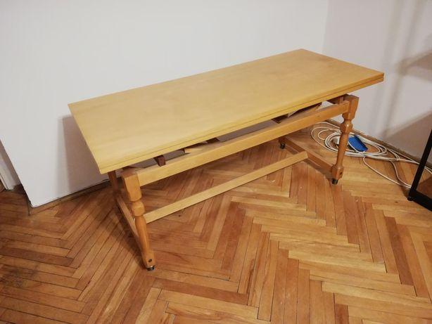 Ława, stół jadalny, PRL