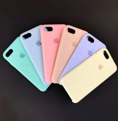 Силиконовый чехол на айфон Iphone SE 5 XR MAX 11 PLUS 7 8 Xs pro 6 12