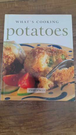 Książka kucharska Potatoes j.angielski, grube wydanie - oddam za kawę!