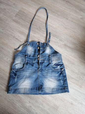 Jeansowa mini rozmiar M