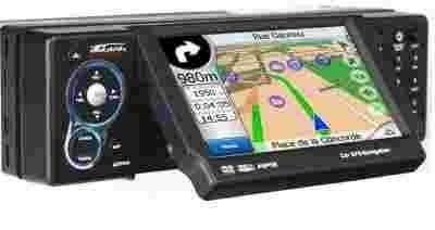 Radio samochodowe DVD GPS Takara GPV1004 1DIN