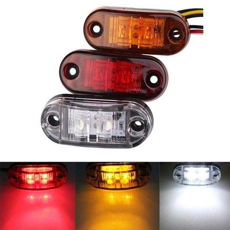 Luz LED Laterais / Reboque / Matricula / Atrelado