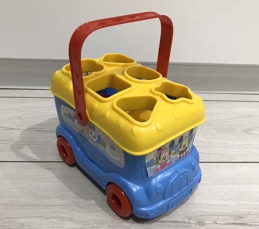 Sorter clementoni Disney Myszka Miki mickey Autobus