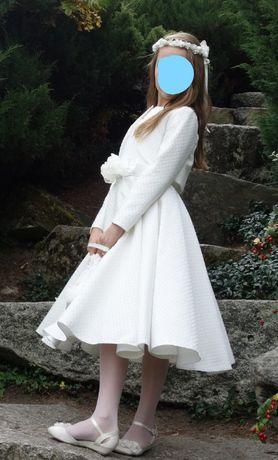 Sukienka komunijna (komplet)