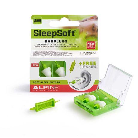 Беруши для сна Alpine Sleepsoft, Голландия + маска! Ушные вкладыши.