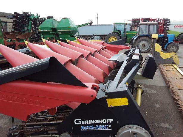 Продаємо жатку для збирання кукурудзи Geringoff RD870 2011року випуск