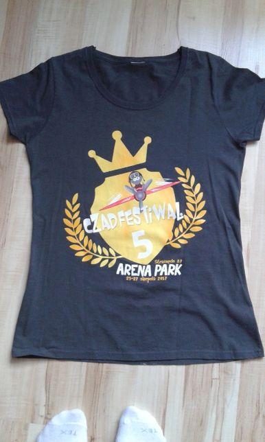 koszulka z CzadFestiwal 2017 rozmiar S