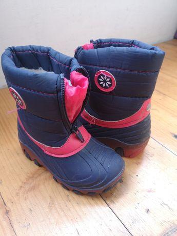 Buty śniegowce świecące Lupilu nr 25. Polecam.