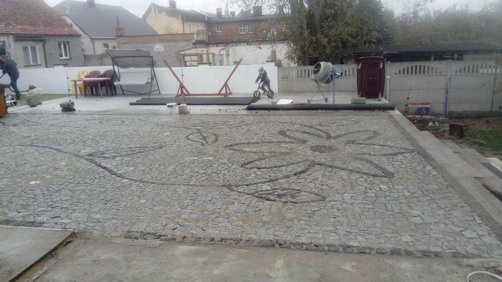 Укладка тротуарной плиткі  каменя, базальту, граніту Ровно - изображение 1