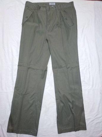 Оригинальные NATO однотонные брюки олива. Армейские парашютные штаны