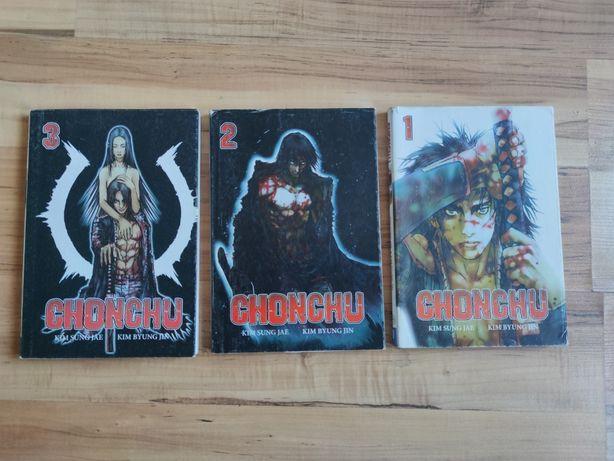 Chonchu tom 1-3 Manhwa Manga Komiks