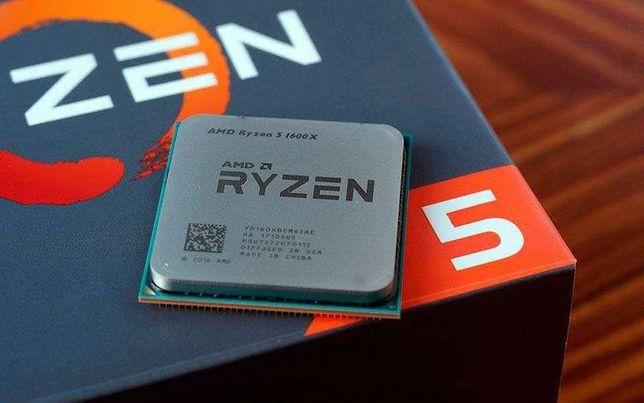 Ryzen 5 1600x BOX. В идеальном состояние.