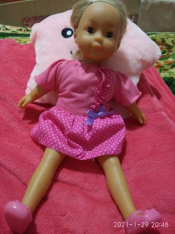 Лялька з м'яким тулубом