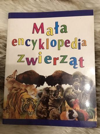 Książka mała encyklopedia zwierząt