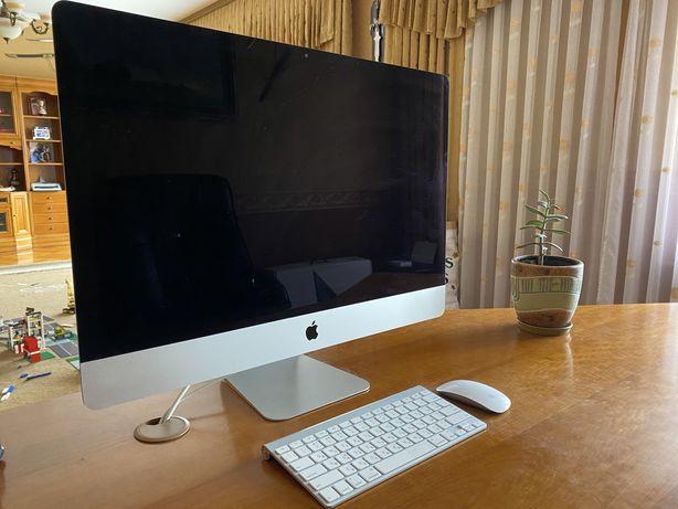 """iMac 27"""" 2012 SSD 256gb 16gb ОЗУ идеальный полный комплект"""