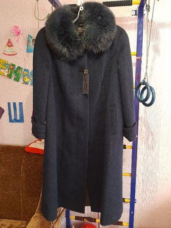 НОВОЕ Пальто Женское Зимнее из Ламы 54 Размер 1299 грн.