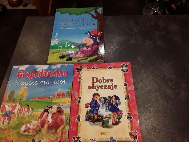 Zestaw książek dla dzieci .Stan idealny