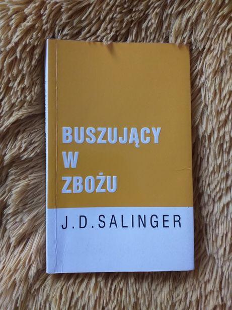 """""""Buszujący w zbożu"""" - J.D. Salinger"""