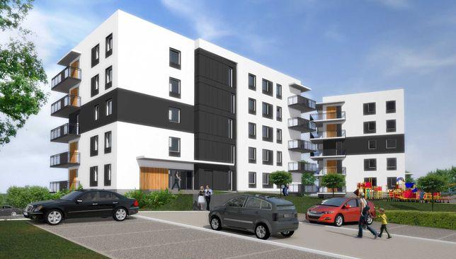 APARTAMENTY PLESZEW, mieszkanie w nowoczesnym stylu 49,54m2, II ETAP
