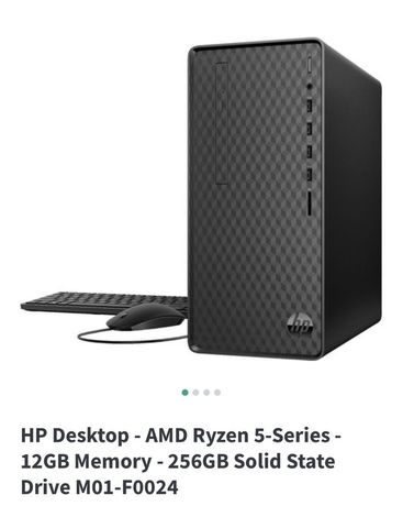 HP Desktop - M01-F0024 Product Specifications