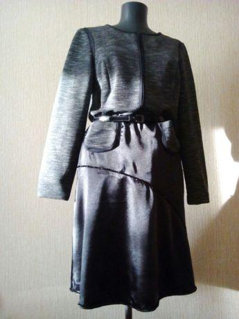 Платье осеннее,весеннее, зимнее, теплое, нарядное.
