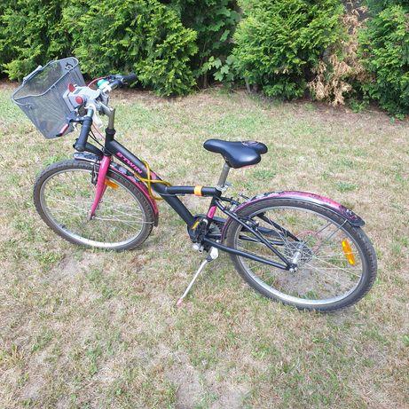 Btwin rower dla dziewczynki