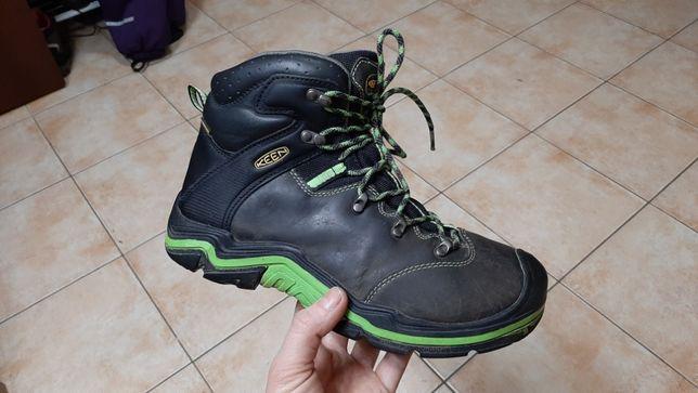 38р,24,5см,Кожаные трекинговые кроссовки,ботинки Keen (Кин)