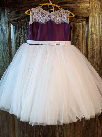 Пышное/бальное платье на девочку/юбка фатин