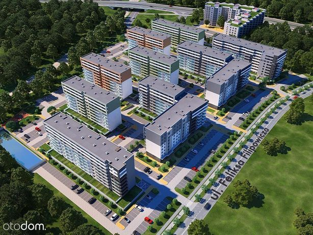 """Mieszkanie """"Osiedle Rekreacyjne"""" B8M28"""