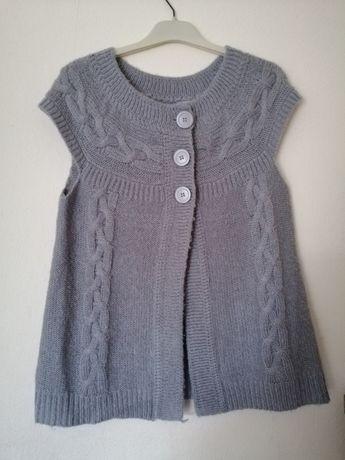 Sweterek szary damski l/xl