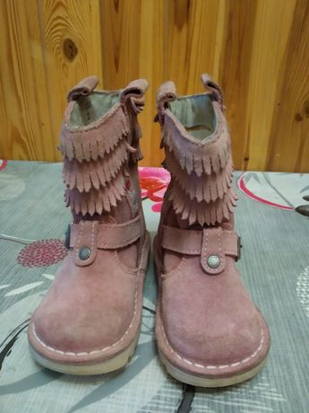 Демисезонные ботинки сапожки на девочку