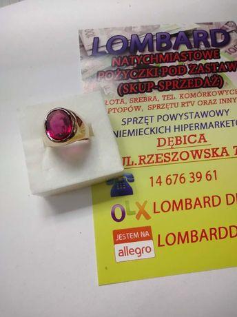 Złoty pierścionek PR.585 Waga 9,54g r.14 ! Lombard Dębica