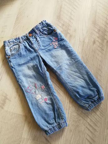 Фирменные теплые джинсы на флисе Мазекеа Mothercare