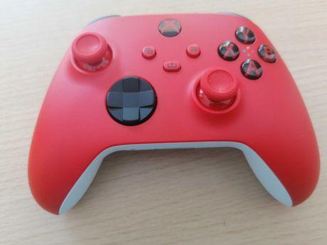 Comando Xbox One vermelho /branco wireless series X