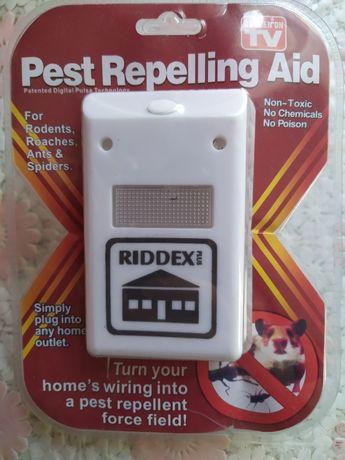 Электромагнитный отпугиватель грызунов, насекомых riddex pest reppelin