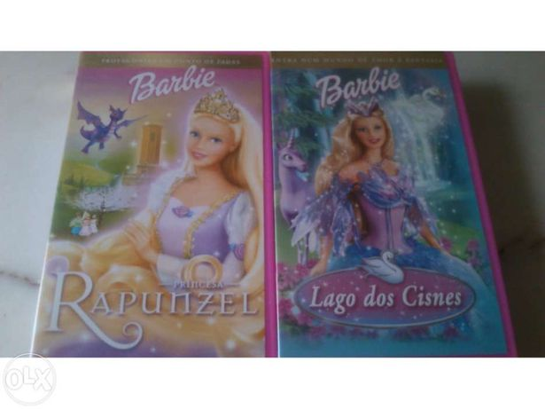Filmes VHS Barbie