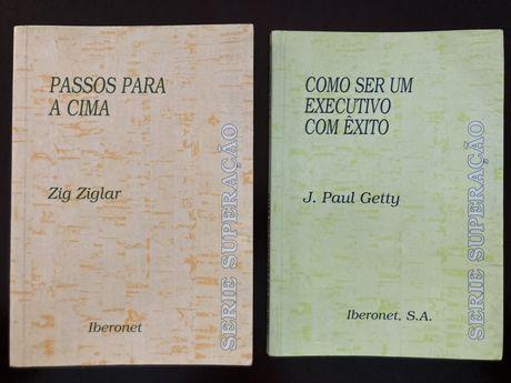"""Dois Livros """"Série Superação"""" - Raros e Quase Novos"""