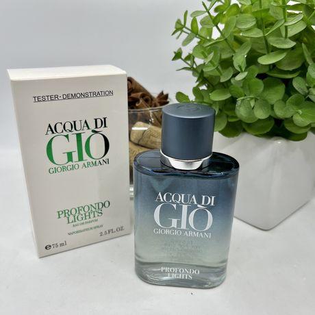Acqua Di Gio Profondo Lights Giorgio Armani Армани Аква Ди Джио Духи