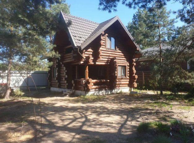 Сдам дом (сруб) в лесу.Вышгородский район,Хотяновка.15 км от Киева