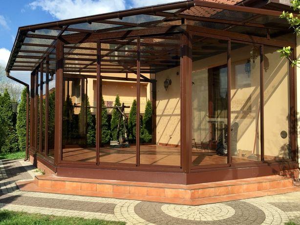 Zadaszenie tarasu, balkonu, wejścia, wiata garażowa, ogród zimowy