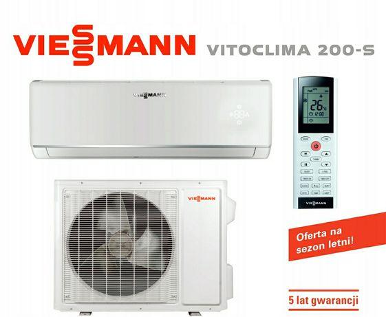 Viessmann Vitoclima-200s z montażem klimatyzacja klimatyzator usługa