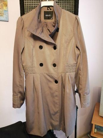 Płaszcz damski brązowy rozmiar 38 jak NOWY