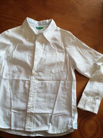 Camisa Benetton branca por 3,00€