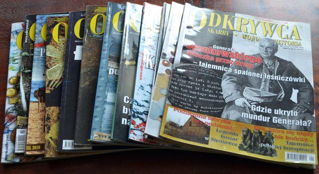 Magazyn ODKRYWCA - rocznik 2010 - kompletny