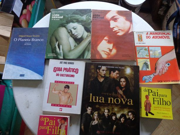 livros varios Lua Nova, Stephenie Meyer