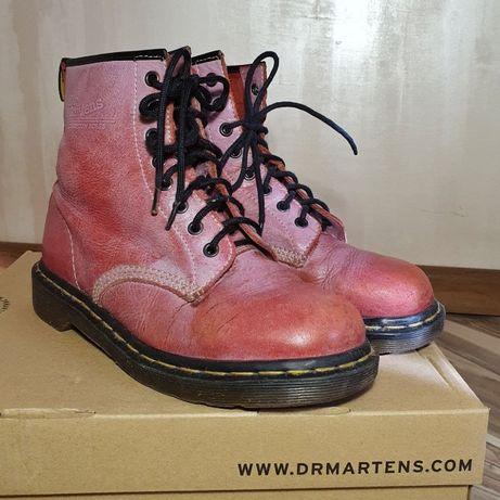 Винтажные кожаные ботинки Dr.Martens 1480 (Англия) 40 р.